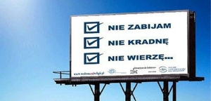 Prototyp billboardu.